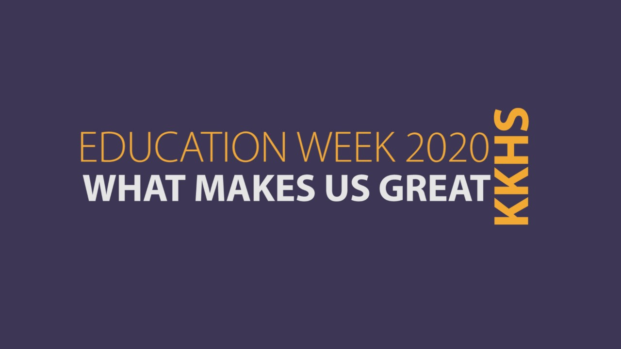 Education Week video title page